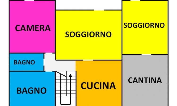 Villa con piscina a Rocca San Felice 659 - Tutte le planimetrie