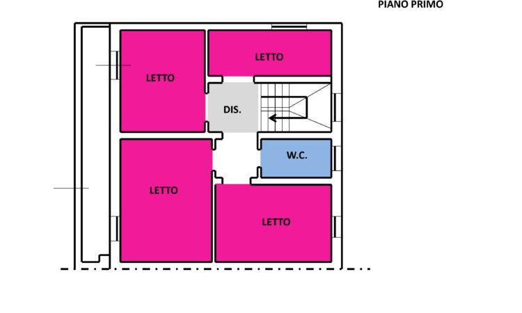 Casa arredata a Bisaccia Nuova 2390 - Tutte le planimetrie
