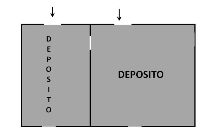 Deposito a Caposele 19 - Tutte le planimetrie