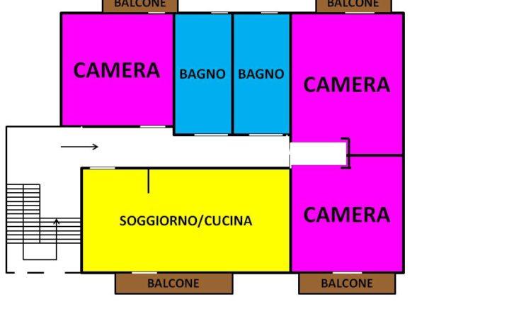 Appartamento con box auto a Lioni 2452 - Tutte le planimetrie