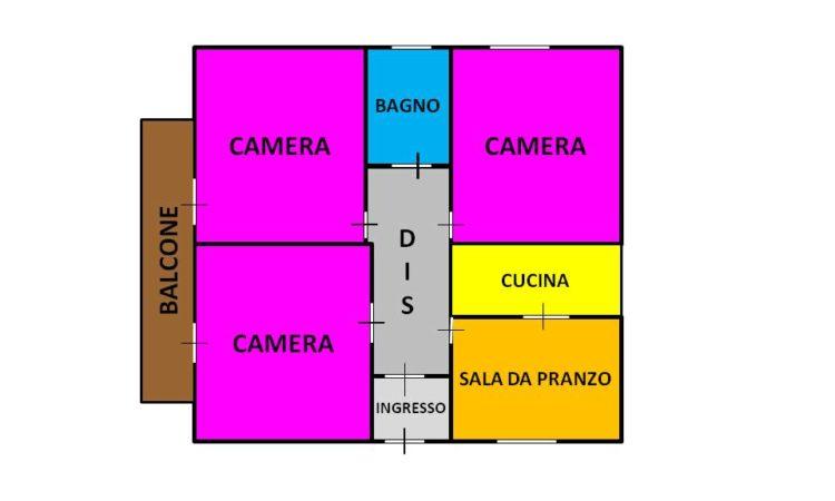 Casa con terreno a Rocca San Felice 2431 - Tutte le planimetrie