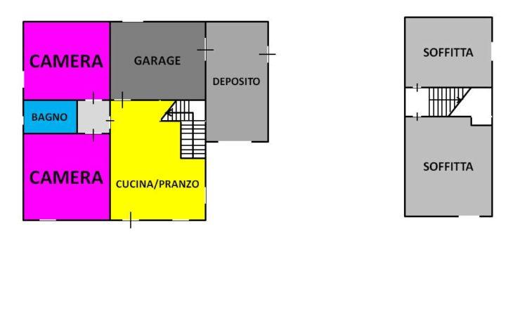 Casa indipendente a Rocca San Felice 2073 - Tutte le planimetrie