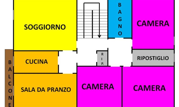 Casa indipendente con terreno a Sant'Angelo Dei Lombardi  1993 - Tutte le planimetrie