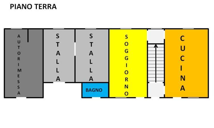 Casolare in pietra a Conza Della Campania 1723 - Tutte le planimetrie