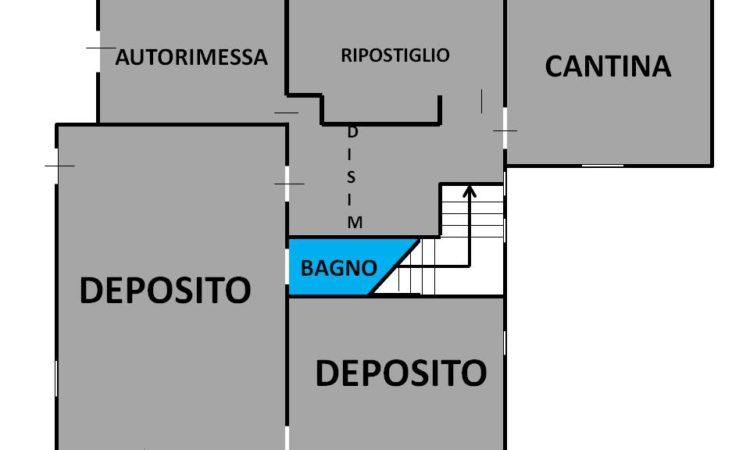 Casa indipendente con terreno a Lioni 1960 - Tutte le planimetrie