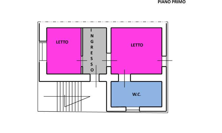 Casa con terreno a Montemarano 2480 - Tutte le planimetrie