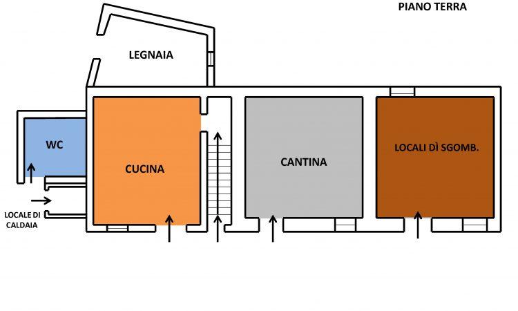 Casolare con terreno a Sant'Angelo dei Lombardi 2499 - Tutte le planimetrie