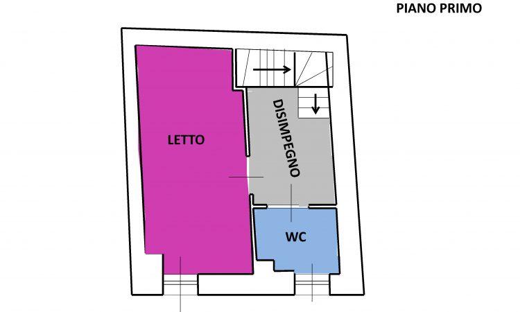 Casa arredata a Bisaccia Vecchia 14 - Tutte le planimetrie