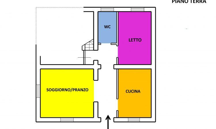 Casa indipendente a Guardia Lombardi 2513 - Tutte le planimetrie