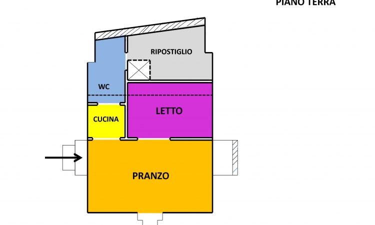 Casa a Calitri 2516 - Tutte le planimetrie