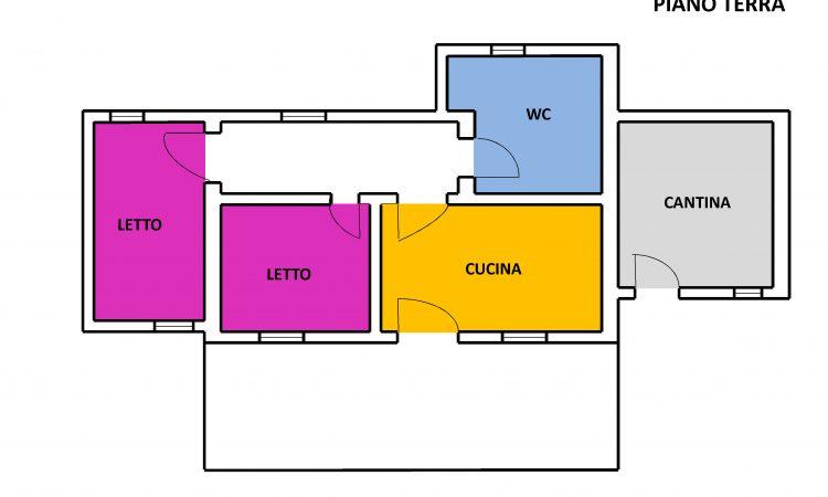 Casa con terreno a Nusco 2526 - Tutte le planimetrie