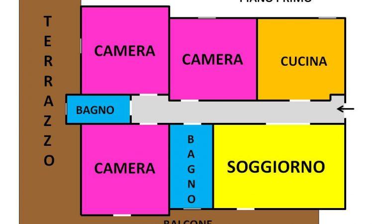 Appartamento a Lioni 2181 - Tutte le planimetrie